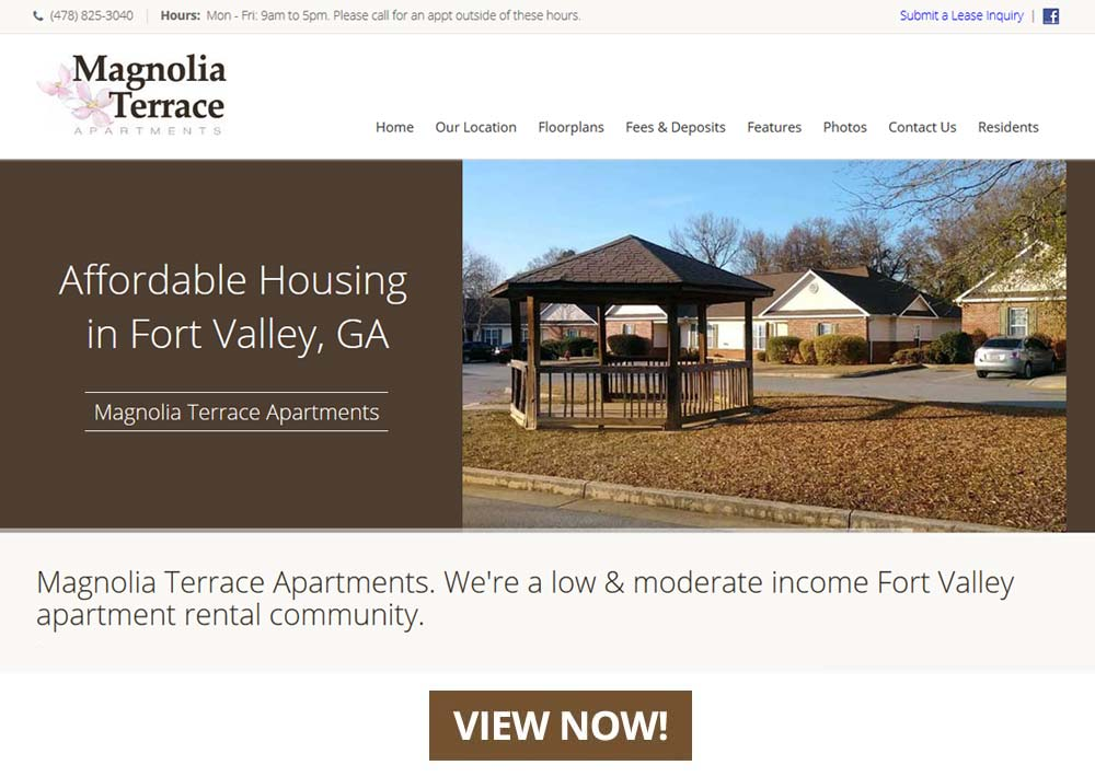 Magnolia Terrace Apartments in Fort Valley, GA - Offering 1, 2 & 3